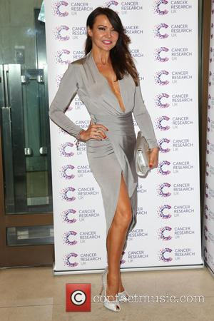 Lizzie Cundy - James Ingham's Jog-On to Cancer held at the Kensington Roof Gardens - Arrivals - London, United Kingdom...