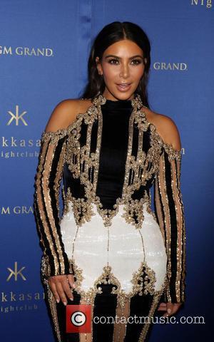 Kim Kardashian: 'Losing Final Pregnancy Pounds Is A Challenge'