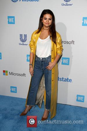 Selena Gomez - WE Day California - Arrivals at Inglewood - The Forum, California, United States - Friday 8th April...