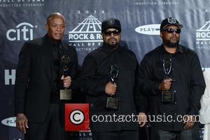 Dr. Dre, Ice Cube and Mc Ren