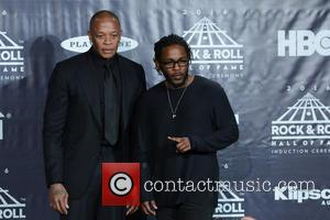 Dr. Dre and Kendrick Lamar