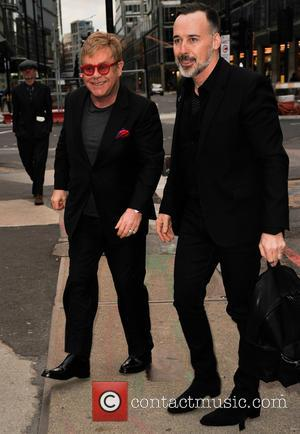 Elton John , David Furnish - Final performance of 'Billy Elliot' at the Victoria Palace theatre after being in London's...
