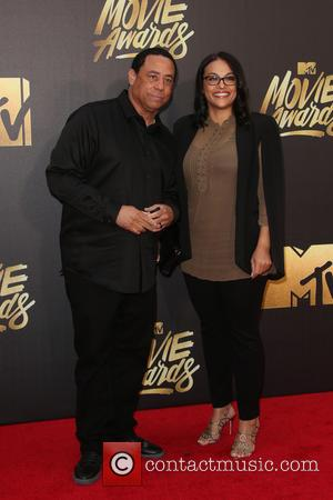 Tomica Woods-Wright , DJ Yella - 25th Annual MTV Movie Awards at Warner Brothers Studios - Burbank, California, United States...