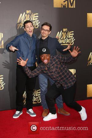 Andy Samberg, Jorma Taccone and Jason Mitchell