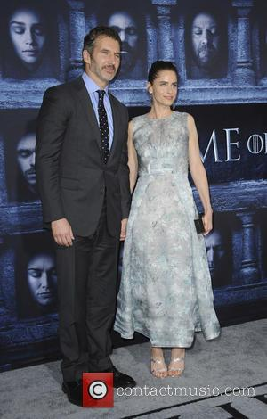 Amanda Peet and David Benioff