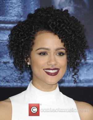 Nathalie Emmanuel - Premiere of 'Game of Thrones' Season 6 - Arrivals - Los Angeles, California, United States - Sunday...