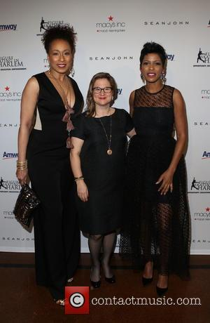 Tamara Tunie, Sharon Cohen and Tamron Hall