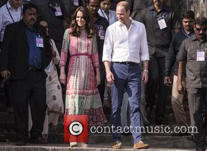 Duchess of Cambridge , Duke of Cambridge - The Duke and Duchess of Cambridge are given a traditional welcome at...