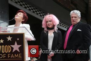 Sharon Osbourne, Cyndi Lauper and Harvey Fierstein