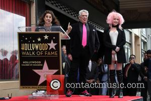 Marissa Jaret Winokur, Harvey Fierstein and Cyndi Lauper