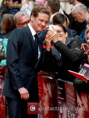 Colin Firth - eye in the sky UK premiere - London, United Kingdom - Monday 11th April 2016