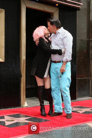 Cyndi Lauper and Husband