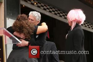Harvey Fierstein, Marissa Jaret Winokur and Cyndi Lauper