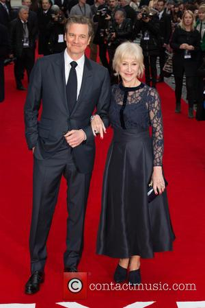 Colin Firth and Helen Mirren