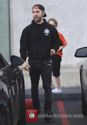 Pete Wentz , Bronx Wentz - Pete Wentz shops with his sons Saint and Bronx at Maxisfield in Beverly Hills...