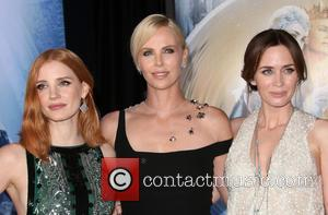 Jessica Chastain, Charlize Theron and Emily Blunt