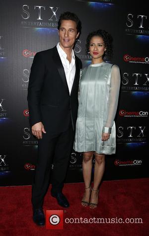 Matthew Mcconaughey and Gugu Mbatha-raw