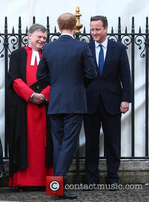 David Cameron Mp and Prince Harry