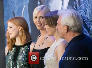 Jessica Chastain, Charlize Theron, Emily Blunt and Joe Roth