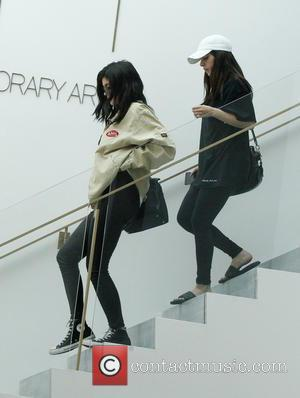 Kylie Jenner - Kylie Jenner leaving the RH Contemporary Art gallery space with a friend in West Hollywood - Los...