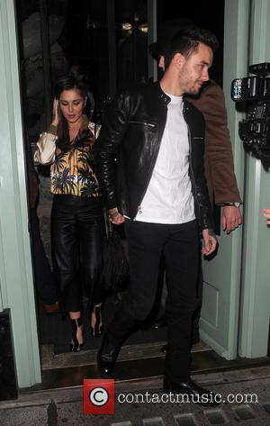 Cheryl Fernandez-Versini , Liam Payne - Cheryl Fernandez-Versini and Liam Payne enjoy date night at Sexy Fish restaurant in Mayfair....
