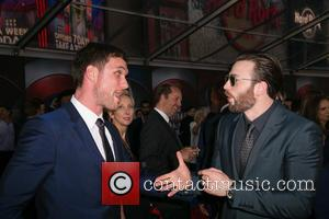 Ed Skrein and Chris Evans