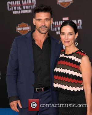 Frank Grillo and Wendy Moniz