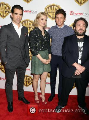 Colin Farrell, Alison Sudol, Eddie Redmayne and Dan Fogler