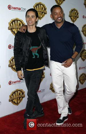 Jared Leto , Will Smith - 2016 CinemaCon Warner Bros Pictures Red Carpet Arrivals at Caesar's Palace Resort and Casino...