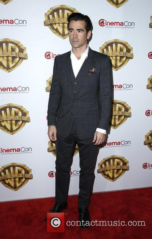 Colin Farrell - 2016 CinemaCon Warner Bros Pictures Red Carpet Arrivals at Caesar's Palace Resort and Casino at Caesars Palace...