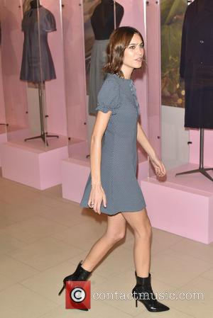 Alexa Chung - Archive by Alexa launch held at Marks & Spencer Marble Arch. - London, United Kingdom - Wednesday...
