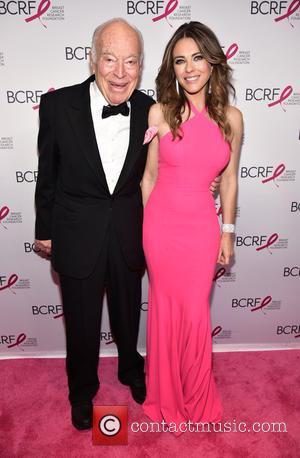 Leonard Lauder and Elizabeth Hurley