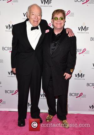 Leonard Lauder and Elton John
