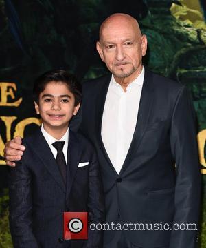 Neel Sethi and Sir Ben Kingsley
