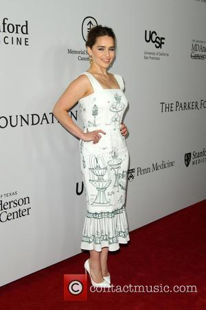 Emilia Clarke - Sean Parker and the Parker Foundation Celebrate the Launch of The Parker Institute for Cancer Immunotherapy held...