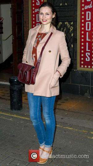 Sophie Ellis-Bextor , singer - Celebrities arrive for the Guys and Dolls media night at the Phoenix Theatre in London....