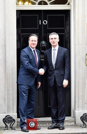 David Cameron and Jens Stoltenberg