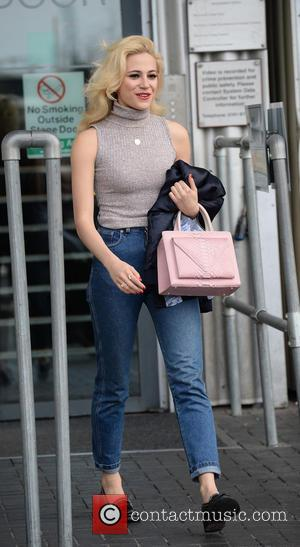,  - Pixie Lott leaves the Lowry Theatre Manchester and signs Autograps for Fans. Stephen Jones known for getting...