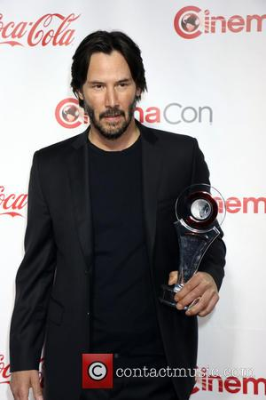 Keanu Reeves - CinemaCon Bi Screen Achievement Awards held at Caesars Palace Hotel & Casino in Las Vegas, Nv on...