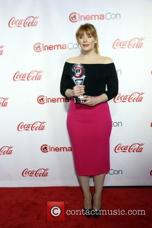 Bryce Dallas Howard - CinemaCon Bi Screen Achievement Awards held at Caesars Palace Hotel & Casino in Las Vegas, Nv...