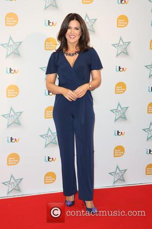 Susanna Reid - Good Morning Britain's Health Star Awards - Arrivals - London, United Kingdom - Thursday 14th April 2016
