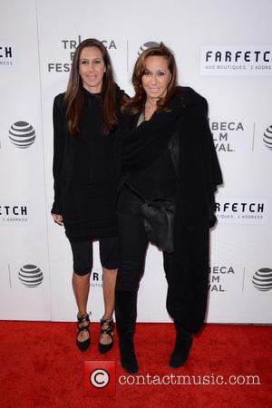 Gabby Karan De Felice and Donna Karan