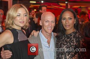 Kate Hudson, David Kirsch and Barbara Becker
