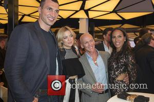 Wladamir Klitschko, Kate Hudson, David Kirsch and Barbara Becker