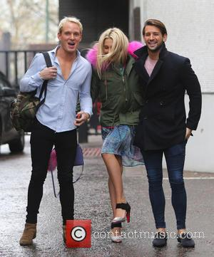 Ollie Locke, Stephanie Pratt and Jamie Lang
