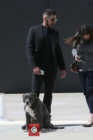 Jon Bernthal - Jon Bernthal filming outside Milk Studios - Los Angeles, California, United States - Friday 15th April 2016