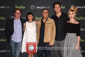 Jere Burns, Rashida Jones, Ira Ungerleider, Hayes Macarthur and Andree Vermeulen
