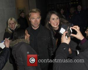Ronan Keating - Ronan Keating seen leaving 'The One Show' at BBC Studios - London, United Kingdom - Friday 15th...