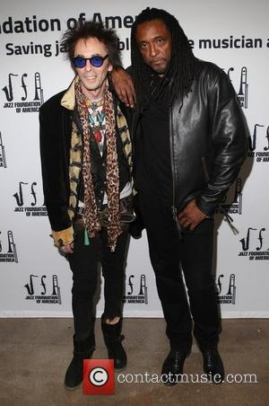Earl Slick and Bernard Fowler