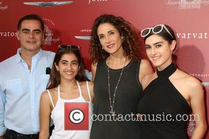 Peter Constantinides, Karina Eleni Constantinides, Melina Kanakaredes and Zoe Constantinides